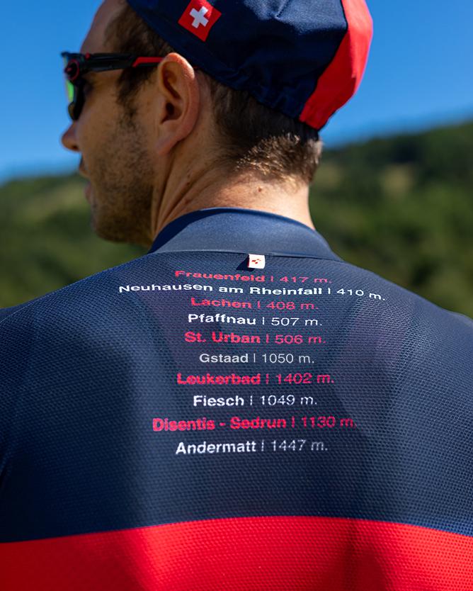 2021 Tour de Suisse Climb Jersey Santini   Cento Cycling